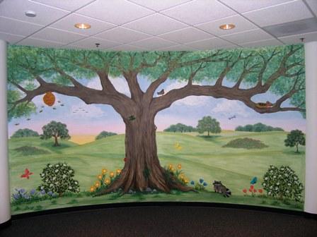Childrenu0027s Murals For Baby Nursery Custom Childrenu0027s Murals Nature Themed Childrenu0027s  Murals By Wendy Bowman, Houston, Texas. Part 79